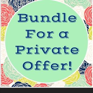 Other - BUNDLE YOUR LIKES AND SAVE!!